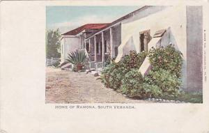 Home of Ramona, South Veranda, Los Angeles, 10-20s