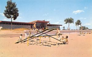 Escanaba MI Teeter-Totters See-Saw @ Municipal Beach 1950s