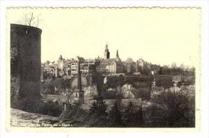 Luxembourg , Vue prise du Plateau du  Rham , 1910-30s