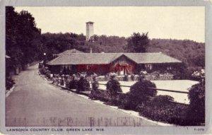 LAWSONIA COUNTRY CLUB, GREEN LAKE, WIS.