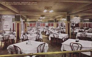 Utah Salt Lake City Emery's Cafeteria Basement Of Rex Theatre