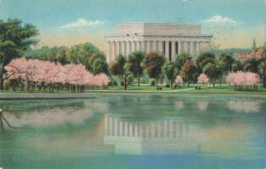 Postcard Lincoln Memorial Washington DC