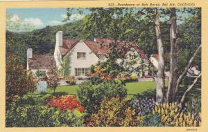 Residence of Bob Burns, Bel Air, California, 1930-1940s