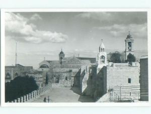 old rppc NICE VIEW Bethlehem - West Bank - Palestine Israel i1954