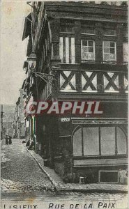 Old Postcard Lisieux Rue de la Paix