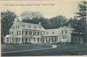 AMHERST , MA, 1910-30s ; Theta Delta Chi House