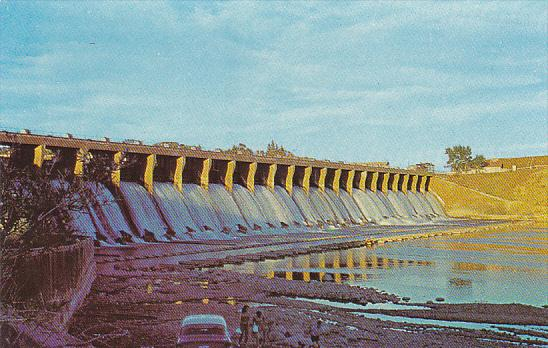 Canada Horseshoe Bend Dam Bassano Alberta