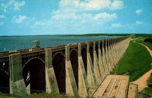 Oklahoma Grand lake World's Largest Multiple Arch Dam