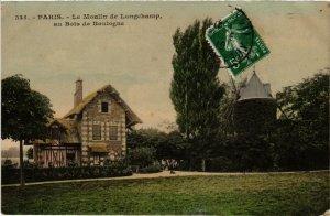 CPA PARIS (16e) Le Moulin de Longchamp au Bois de Boulogne (563359)