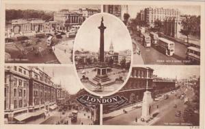 England London Trafalgar Square and More
