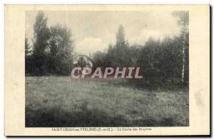 Old Postcard St Leger En Yvelines Le Chalet des Bruyeres