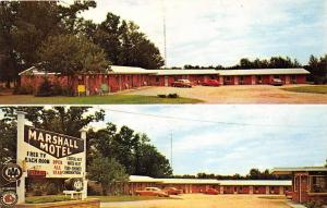 4514  MI Grayling   Marshall Motel