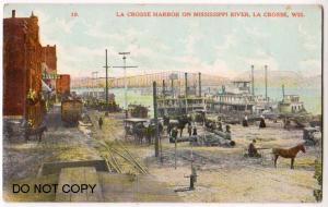 Harbor, Mississippi River, La Crosse Wis