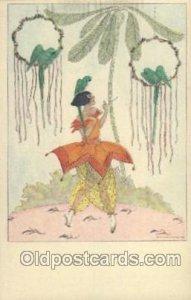 B.K.W. I. 418-5 Artist Signed Mela Koehler Unused