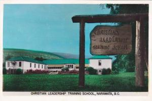 RP  Hand-colored, Christian Leadership Training School, Naramata, British Col...