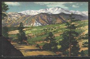Colorado - Rampart Range Road - Pikes Peak - [CO-160]