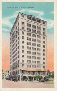 MIAMI , Florida , 1910s ; Hotel Alcazar