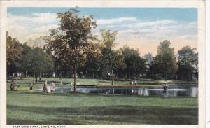 Michigan Lansing East Side Park 1916