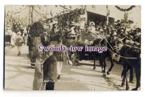 tq2009 - Jersey - Floats in Battle of the Flowers Carnival in 1909. - Postcard