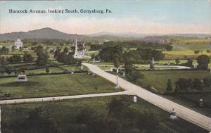 Pennsylvania Gettysburg Hancock Avenue Looking South Curteich