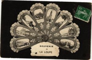 CPA Souvenir La Loupe (128814)