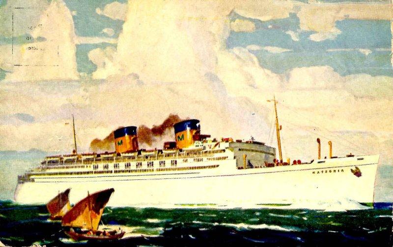 Matson-Oceanic Fleet - SS Matsonia