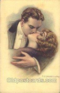 Series 162-3 Tito Corbella (Italy) Artist Signed 1916 light wear close to per...