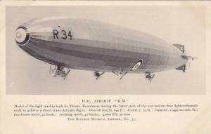 H.M. Airship R 34 , Model at Science Museum , LOndon , England , 20-30s