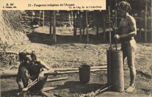 CPA Vietnam Indochine - Forgerons indigénes de l'Annam (85890)
