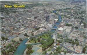 Air View of Reno Nevada NV