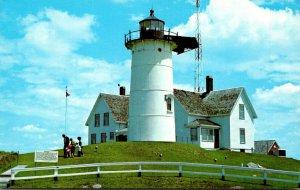 Massachusetts Woods Hole Nobska Point Nobska Lighthouse