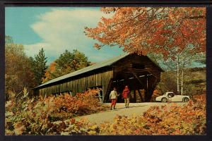 Old Covered Bridge,Our Lady of Grace Chapel,Newfound Lake,Bristol,NH
