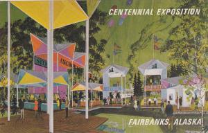 Bartlett Plaza, Fairbanks, Alaska, 40-60s