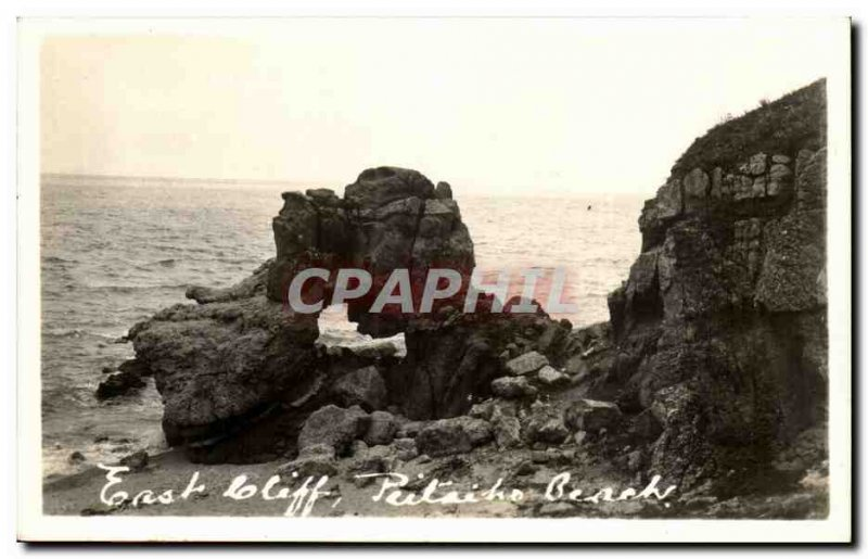 PHOTO CARD East Putaiho cliff cliff