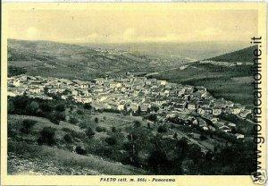03343  CARTOLINA d'Epoca: FOGGIA - FAETO : PANORAMA