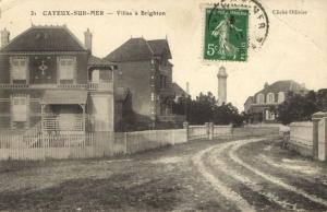 CPA CAYEUX-sur-MER - Villas a BRIGHTON (121385)