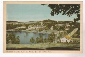 296  Aerial View of   LAURENTIDE  INN Ste.Agatha des Monts. Quebec