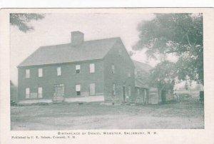New Hampshire Salisbury Birthplace Of Daniel Webster