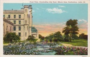 Illinois Joliet Front View Overlooking Lily Pond Illinois State Penitentiary ...
