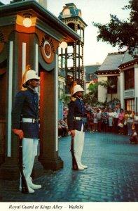 Hawaii Waikiki Royal Guard At Kings Alley