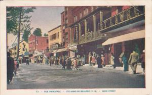 Rue Principale, STE-ANNE-DE-BEAUPRE, Province of Quebec, Main Street, Canada,...