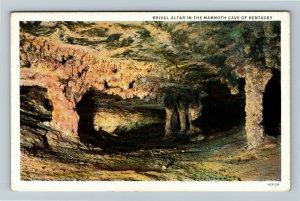 Mammoth Cave, KY-Kentucky, Bridal Altar, Vintage Postcard