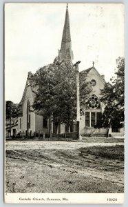 Cameron Missouri~Catholic Church~Elmer P Owen Home Now~Cribbage~1917 CU Williams