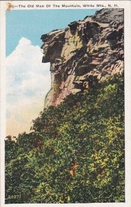 The Old Man Of The Mountain White Mountains New Hampshire