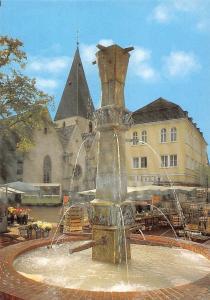 Lage i Lippe Marktplatz mit Brunnen Fountain Flowers Market Place