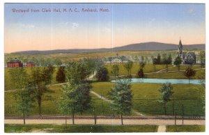 Amherst, Mass, Westward from Clark Hall, M. A. C.