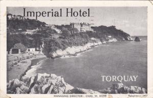 TORQUAY, Devon England , Imperial Hotel , 00-10s
