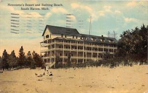 Michigan South Haven,  Newcome's Resort and Bathing Beach