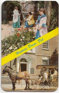 Dover, Delaware, Colonial glories at the Old Dover Days, Postcard