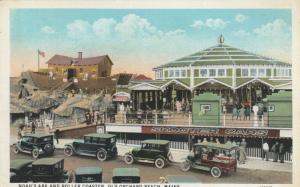 OLD ORCHARD BEACH, Maine , 1910s ; Noah's Ark & Roller coaster